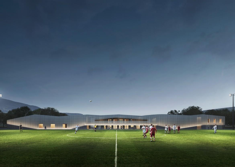Centre sportif du Lussy - Projet