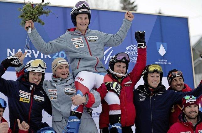 Alexis Monney - Champion du monde juniors de descente