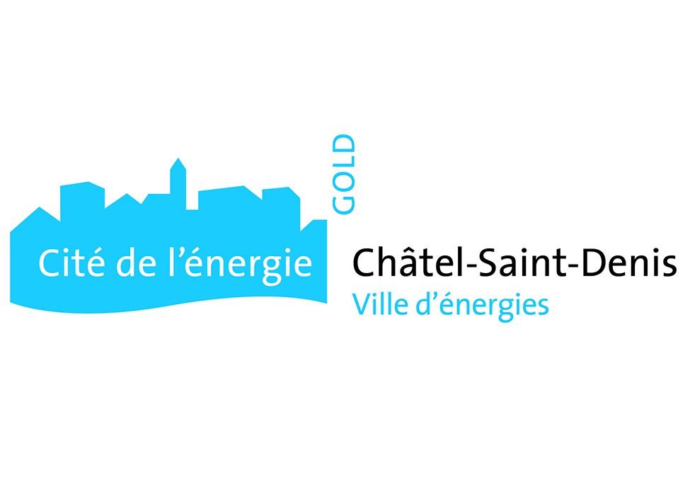 """Châtel-St-Denis devient """"Cité de l'énergie GOLD"""""""