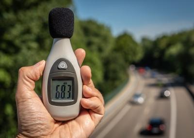 Assainissement du bruit routier des routes communales